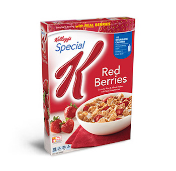 .50 off Special K Red Berries Cereal with Printable Coupon