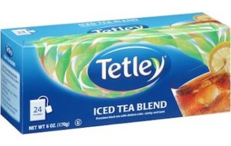 Save $1.00 off (1) Tetley Tea Bags Printable Coupon