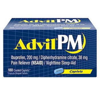 Save $4.00 off (1) Advil PM Ibuprofen Printable Coupon