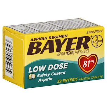 Save $1.00 off any (1) Bayer Aspirin Printable Coupon