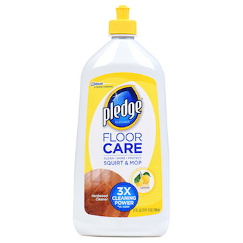 Save $2 off Pledge Brand Floor Cleaners with Printable Coupon