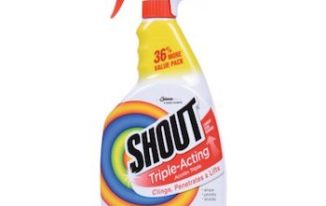 Save $0.75 off (2) Shout Stain Removing Products Printable Coupon