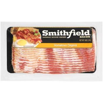 Save $1.50 off (2) Smithfield Brand Bacon Printable Coupon