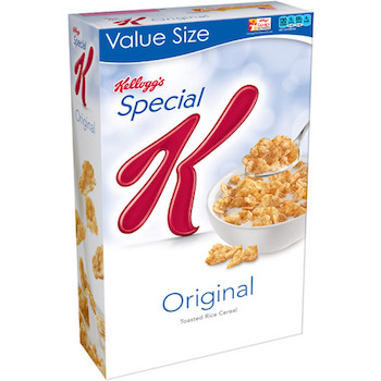 Save $1.00 off (3) Kellogg's Special K Cereals Printable Coupon