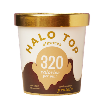 photograph relating to Halo Top Printable Coupon known as $1 off (2) Halo Best Ice Product Pints with Printable Coupon