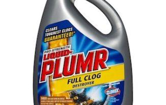 Save $1.00 off (1) Liquid Plumr Clog Remover Printable Coupon