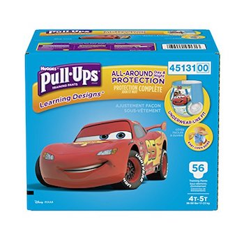 photo regarding Printable Coupon $3 Off Pull Ups titled Conserve $3 off Pick Huggies Pull Ups with Amazon Electronic Discount codes