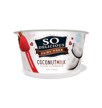 Save $0.55 off (1) So Delicious Dairy Free Yogurts Printable Coupon