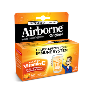 Save $1.00 off (1) Airborne Immune Boost Supplement Coupon