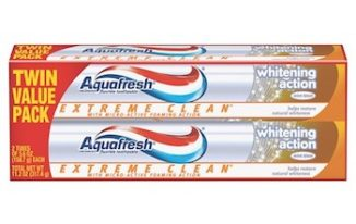 Save $1 off Aquafresh Extreme Toothpaste with Printable Coupon