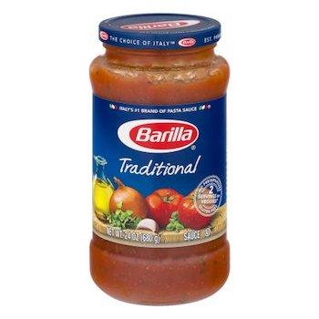 Save $1.00 off (2) Barilla Pasta Sauce Printable Coupon