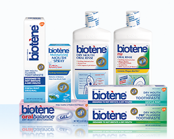 Save $1.50 off (1) Biotene Spray Gel or Toothpaste Coupon