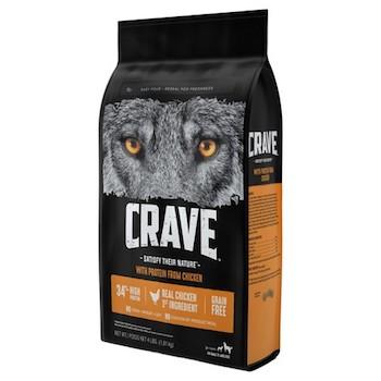 Save $3.00 off (1) Crave Dry Dog Food Printable Coupon