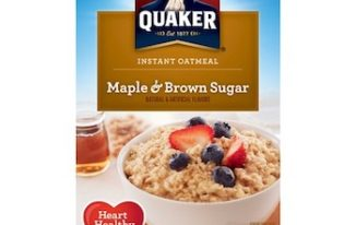 Save $1.00 off (2) Quaker Instant Oatmeal Printable Coupon