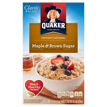 Save 1 00 Off 2 Quaker Instant Oatmeal Printable Coupon