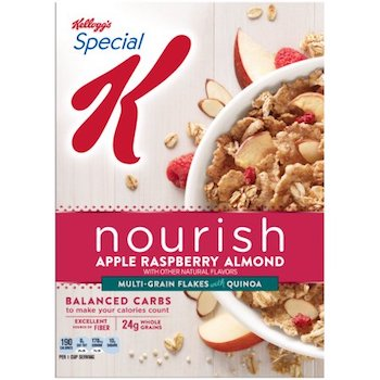 Save .50 off Special K Nourish Cereal with Printable Coupon
