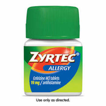 picture relating to Zyrtec Printable Coupon $10 known as Help you save $1.00 off (1) Zyrtec Allergy Reduction Printable Coupon