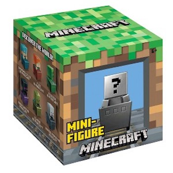Save 25% off Minecraft Mini Figures (Singles) with Target Coupon