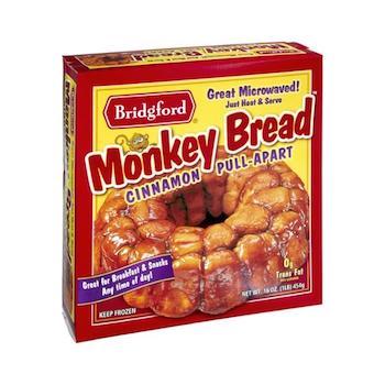 Save $0.75 off (1) Bridgford Monkey Bread Printable Coupon