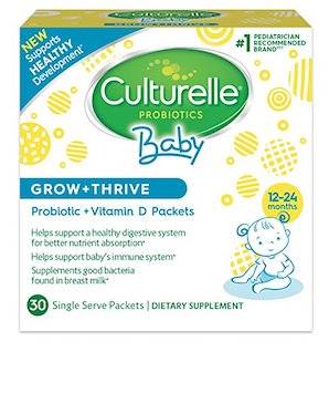 image relating to Culturelle Coupon Printable named Conserve 30% off Culturelle Boy or girl Probiotics with Amazon Electronic