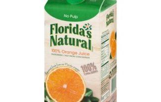 Save $1.00 off (2) Florida's Natural Orange Juice Coupon