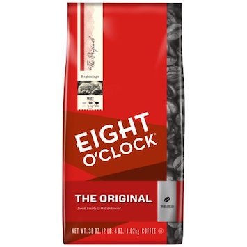 Save $1 off (1) Eight O'Clock Coffee Printable Coupon