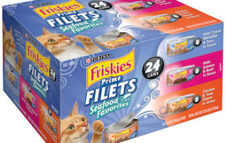 Save $1.00 off (24) Cans of Friskies Wet Cat Food Printable Coupon