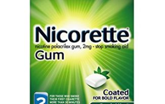 Save $10 off Nicorette Spearmint Gum with Printable Coupon