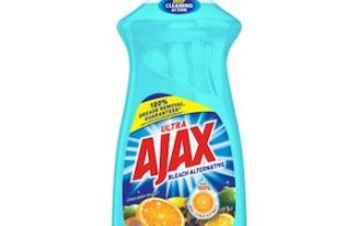 Save $0.25 off (1) Ajax Ultra Dish Soap Printable Coupon