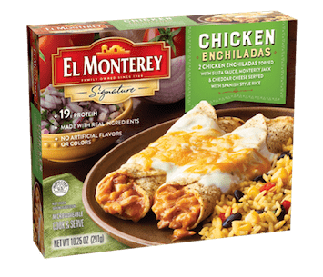 Save $1.00 off (1) El Monterey Entrees Printable Coupon