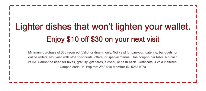 photo relating to Maggianos Printable Coupon identify Conserve $10 off $30 at Maggianos Very little Italy Cafe