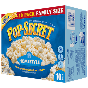 Save $1.00 off (2) Pop Secret Popcorn Printable Coupon