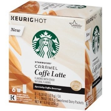 Save 3 25 Off 2 Starbucks Latte Coffee K Cups Printable