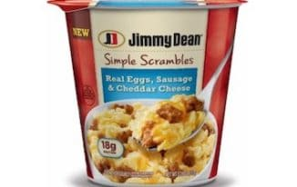 Save $0.55 off (1) Jimmy Dean Simple Scrambles Printable Coupon