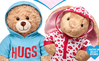 Build-A-Bear $20 for (1) Bear + (1) Clothing with Coupon Offer – 2018