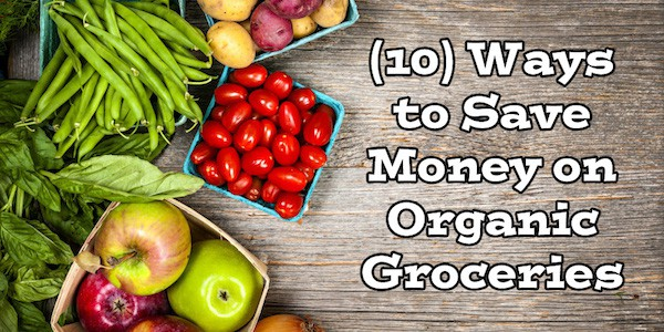 (10) Ways to Save Money on Organic Groceries / Food