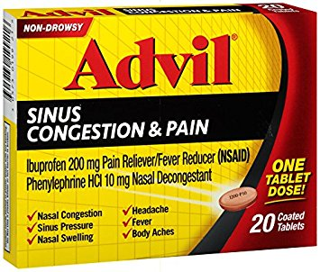 graphic regarding Advil Printable Coupon identified as Help you save $2 off Advil Congestion Ache with Printable Coupon - 2018