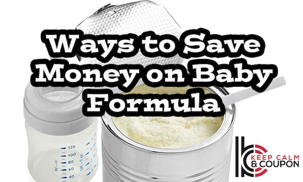 How to Save on Baby Formula with Coupons and Free Discount Programs