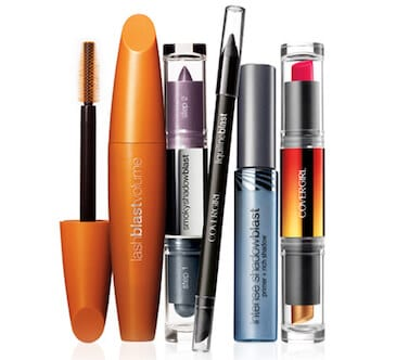 image about Covergirl Printable Coupons named Conserve $4 off Any (2) Covergirl Make-up Goods with Printable