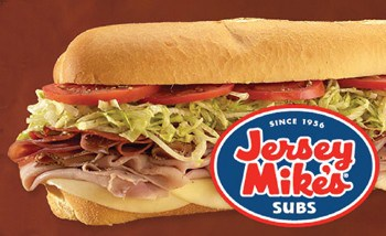 graphic regarding Jersey Mike's Printable Coupon named Help you save $1 off Jersey Mikes Subs with Printable Coupon - 2018
