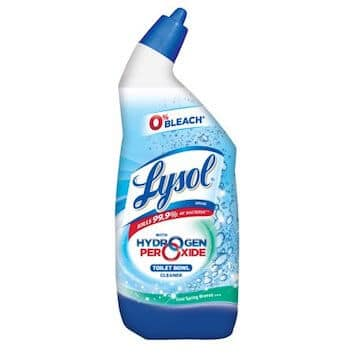 Save $0.50 off (1) Lysol Toilet Bowl Cleaner Printable Coupon