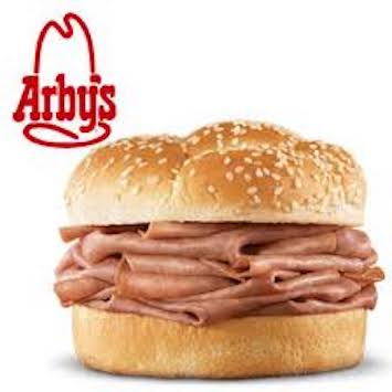 image regarding Arbys Coupon Printable identified as Help save $1 off Arbys Roast Beef Sandwiches with Printable Coupon