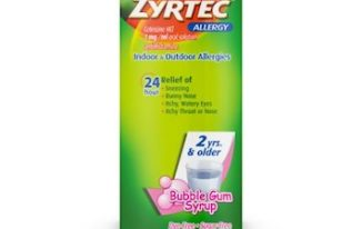 Save $4.00 off (1) Children's Zyrtec Printable Coupon