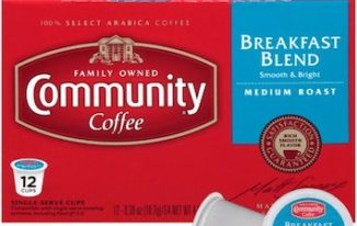 Save $1.50 off Community Coffee K-Cups with Printable Coupon