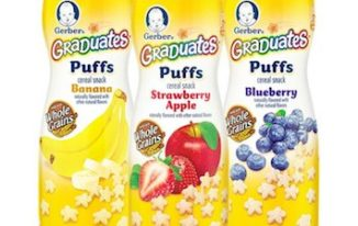 Save $1.00 off (4) Gerber Baby Snacks Printable Coupon