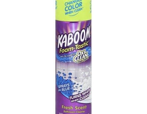 Save $0.50 off (1) Kaboom Bathroom Cleaner Printable Coupon