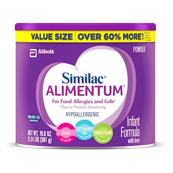picture about Baby Food Coupons Printable called Conserve $10 off Similac Alimentum Boy or girl Method with Amazon Discount codes