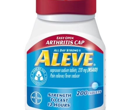 Save $2.00 off (1) Aleve Pain Reliever Printable Coupon