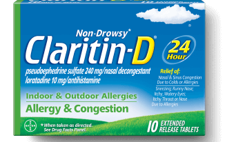 Save $4.00 off (1) Claritin D Non-Drowsy Printable Coupon