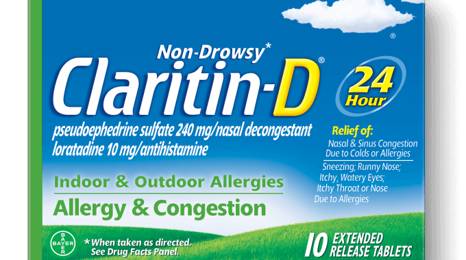 $8 off any (1) Claritin D Non-Drowsy Printable Coupon